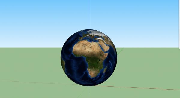 Planet-Earth-3D-Model-sketchup