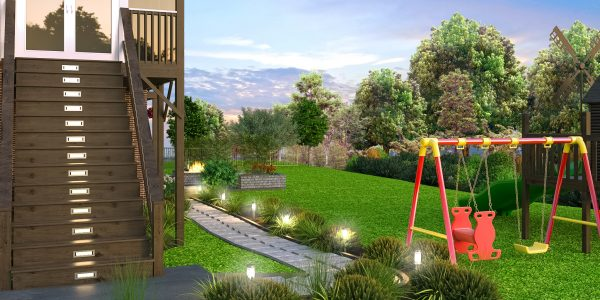 playground design backyard 3d