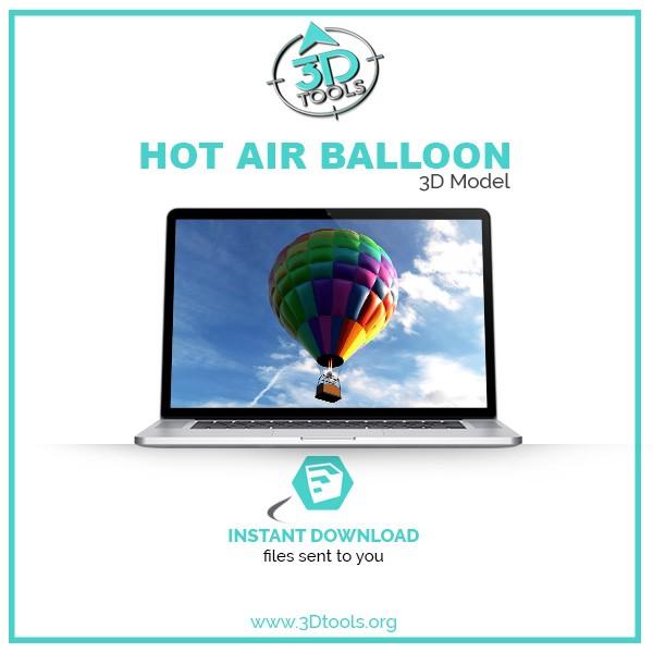 3D-Tools-3D-Model-Hot_Air_Balloon