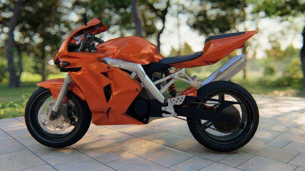 3D-motorcycle-model-sketchup