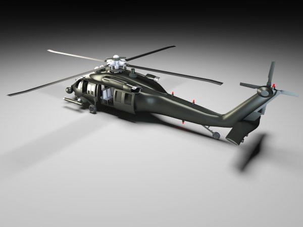 helicopter-obj-file-3d-model-download