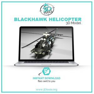 helicopter-obj-file-3d-model
