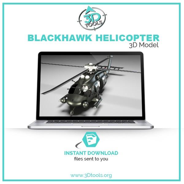 helicopter-obj-file-3d-model