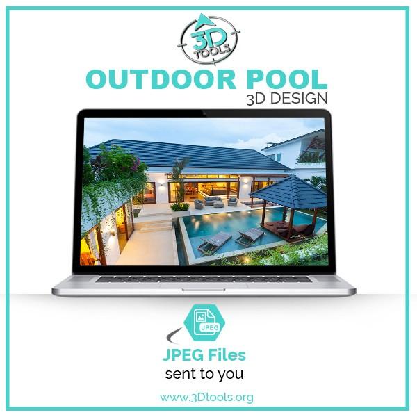 3D-Tools-3D-Modeler-3D-Models-download Outdoor Pool designs