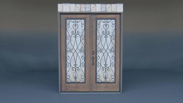Front Door 3d model