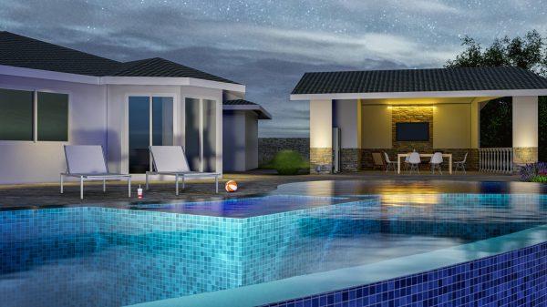 infinity edge pool designs designer