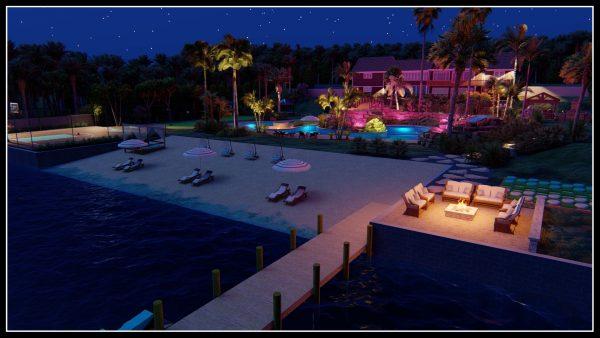 personal beach design plans pool