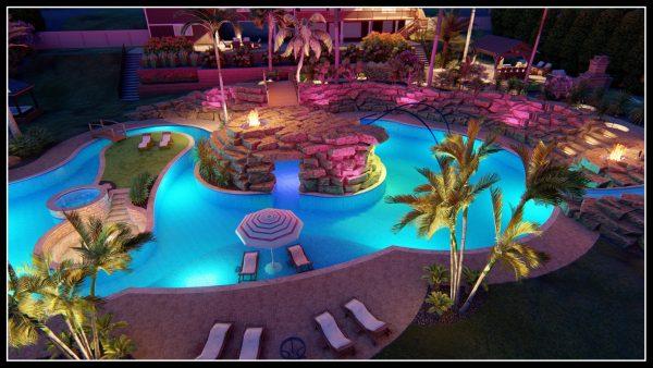 grotto pool design plans