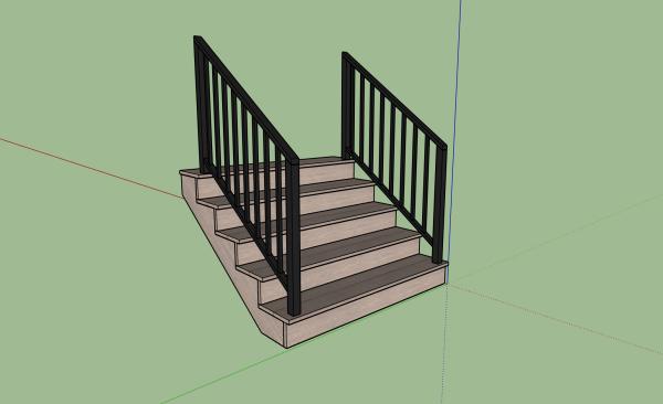 3d-sketchup-staircase