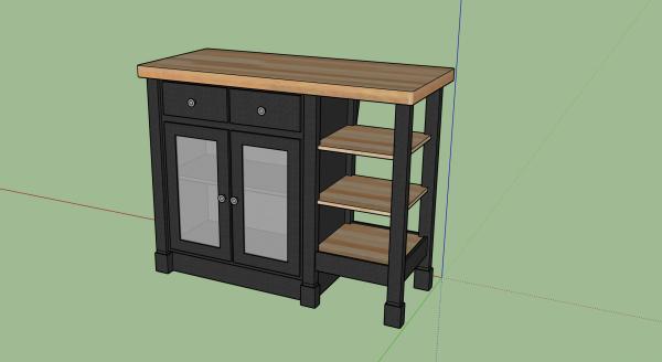 kitchen-island-3d-model-sketchup