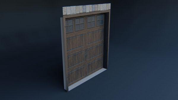 Garage Door 3d model download
