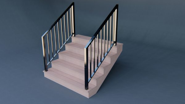 staircase-iron-railing-3d-model