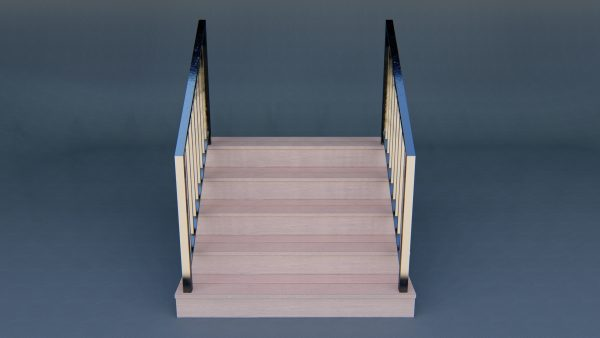 3d-staircase-model-download