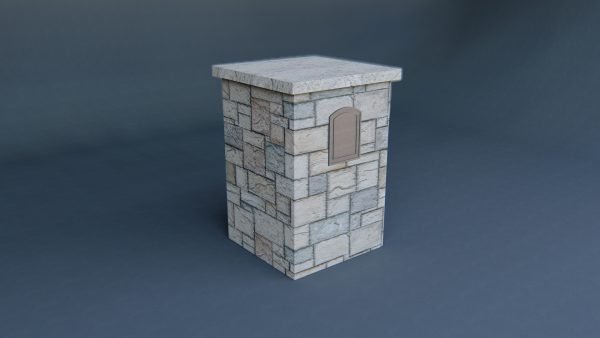 stone-mailbox-3d-model-download