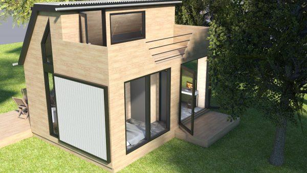tiny house design office loft bedroom