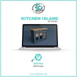 kitchen-island-3d-model