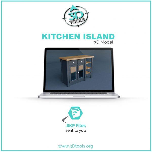 kitchen-island-3d-model