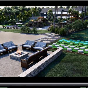 3d pool design mockup service