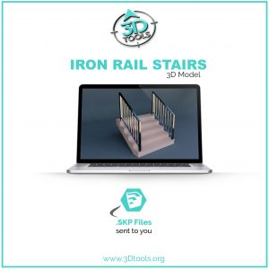 stairs-iron-railing-3d-model