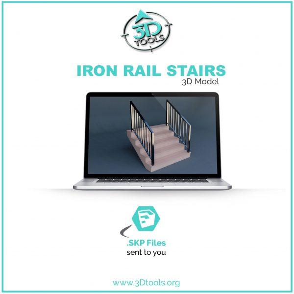stairs-iron-railing-3d-model