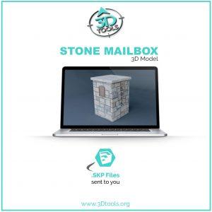 stone-mailbox-3d-model