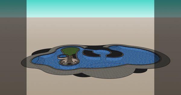 3d pool design model download