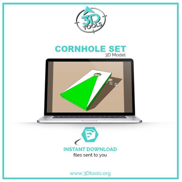 3d-models-download-corn-hole
