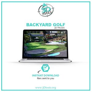 3d-models-download-golf-backyard-putting-green