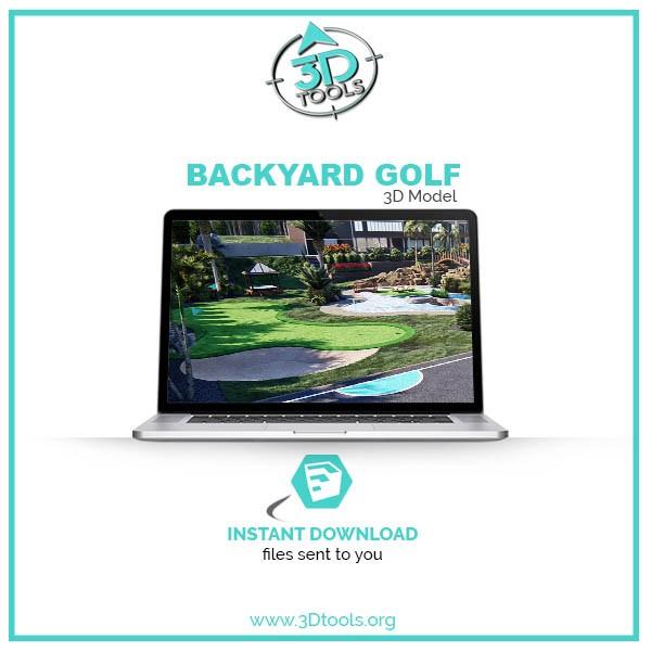 3d-models-download-golf-backyard-putting-green