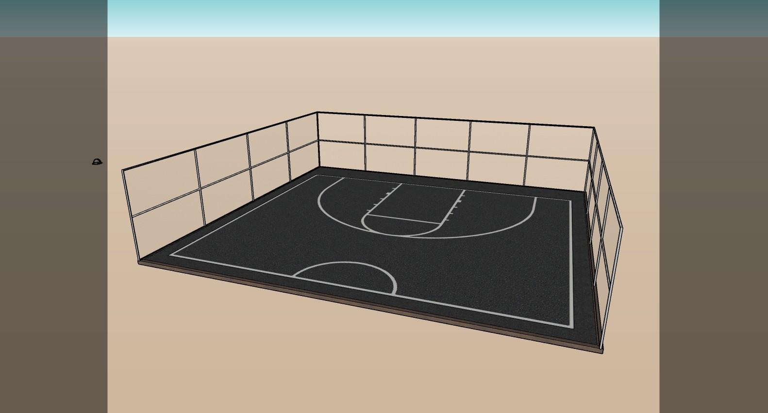 Basketball Field Screenshot