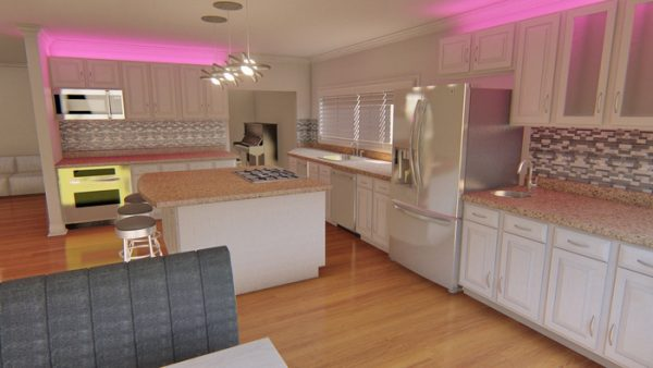 kitchen remodel 3d design