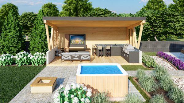 landscape pool deck designer plans 3d hot tub