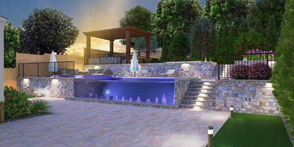 pool 3d design plans