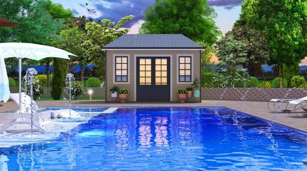 landscape pool deck designer plans 3d modern pool tanning ledge