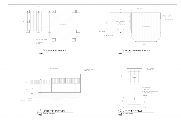 autocad technical design plans service order online