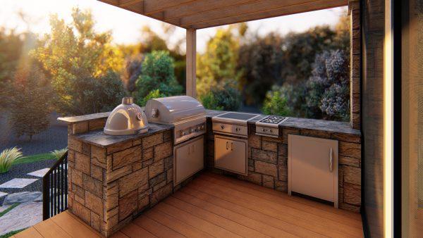 Deck Designs Outdoor Kitchen